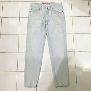 Logo Light Blue Jeans