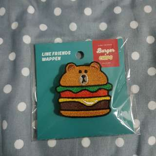 Burgers and chips pin