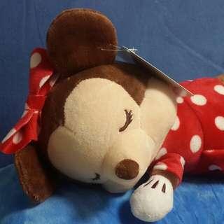 米妮娃娃睡覺玩偶