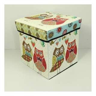 Storage Box Kotak Organizer Serbaguna Sekaligus Bangku