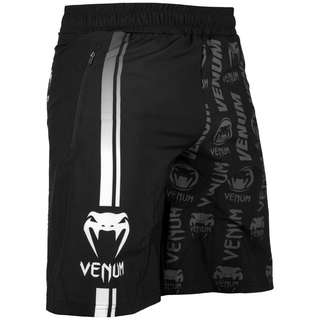 Authentic Venum Logo Fitness Shorts (Black/White) - Latest Design