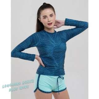 Longhand+Boxer Swimsuit