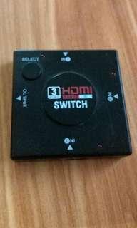 HDMI 三進一分配器
