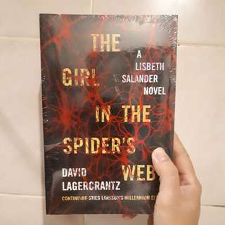 Buku Impor - The Girl in The Spider's Web