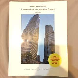 🚚 Fundamentals of Corporate Finance (Eighth edition)