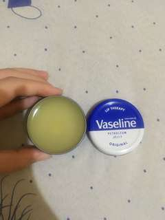 Vaseline Lip Theraphy Original Tin