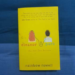 [pre-loved] eleanor & park by rainbow rowell