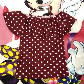 Blouse Sweet Polkadot
