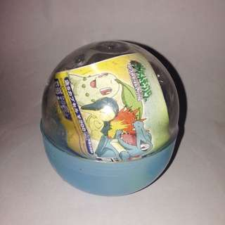 Pokemon Capsule Set Takara TOMY A.R.T.S Chingling Chimecho & Spiritomb