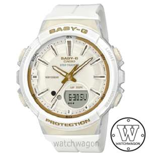 Brand New Casio Baby-G White BGS-100GS-7A  ....   bgs-100