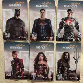Mandiri E-Money Justice League Limited Edition