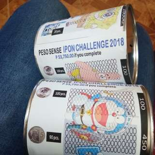 Alkansya Ipon Challenge W/S