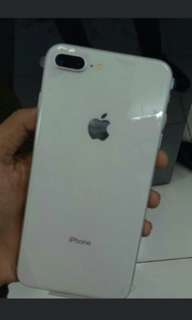 Iphone 8 plus 64gb silver new kredit cepat