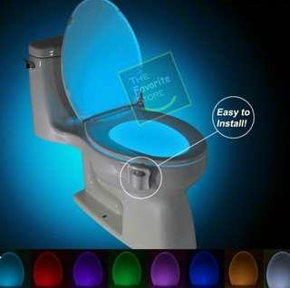 LED Toilet Seat Light Motion Sensor