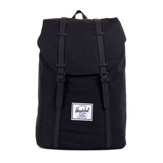 [INSTOCK] HERSCHEL SUPPLY RETREAT BACKPACK (BLACK)