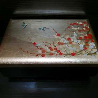 Beautiful Japanese Music jewelry box