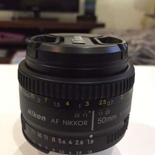 Nikon 50mm f 1.8D  (Price Nett )
