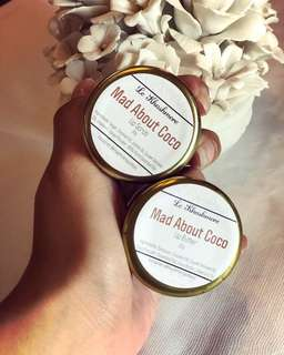 Lip Scrub and Lip Butter (sold seperately)