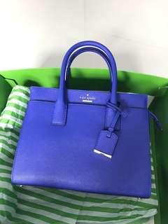 Kate Spade cameron mini in blue