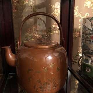 銅壺 日本老壺全新