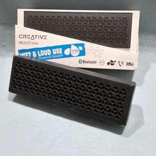 CREATIVE( BLUETOOTH ) MUVO MINI SPEAKER( black colour)