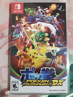 Nintendo switch pokken tournament dx