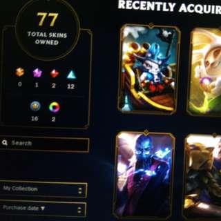 League of legends accounts