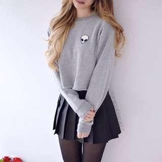 Alien 👽 sweater grey