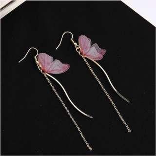 🦋 Earrings Butterfly Beautiful Fairy