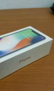 IPhone x 256gb Smartphone Silver New Cash-Kredit Tanpa CC