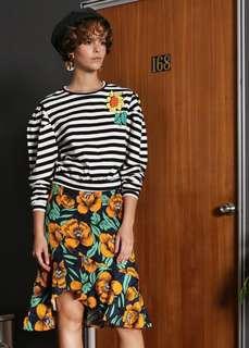 Soeurs.co Sunflower Striped Sweater 🌼🌻