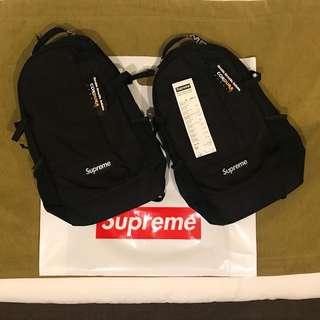 全新 SUPREME ss18 backpack (有單據查閱)