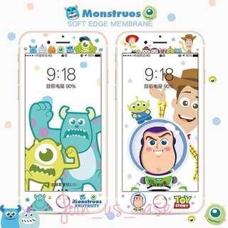 玩具總動員iPhone玻璃mon貼