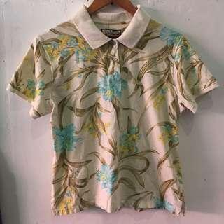 Floral Poloshirt