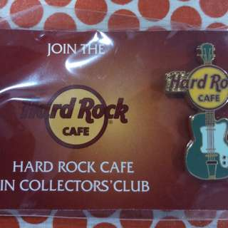 Hard Rock collectors pin
