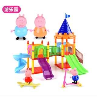 兒童小豬辦家家酒角色扮演玩具