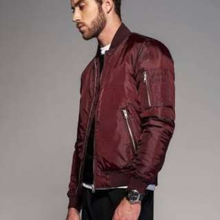 LOOKING FOR MAROON BOMBER JACKET
