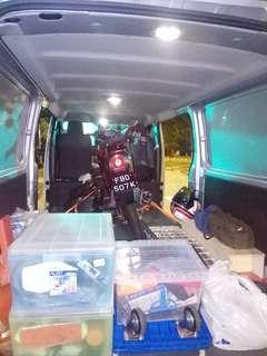 Towing / onsite bike service / mobile mechanic