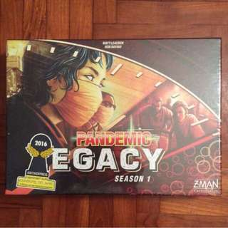 Pandemic Legacy Season 1 board game (NOT FAKE)