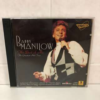 1993 Barry Manilow Greatest Hits Tour VCD