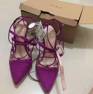 Zara rope heels