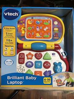 *ready stocked* VTech Brilliant Baby Laptop