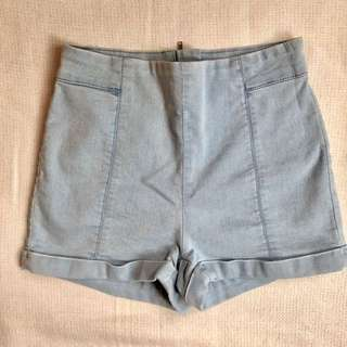 Urban Outfitters Denim High-Waisted Shorts