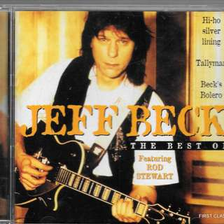 MY PRELOVED CD - JEFF BECK - THE BEST OF - /FREE DELIVERY (F7N))