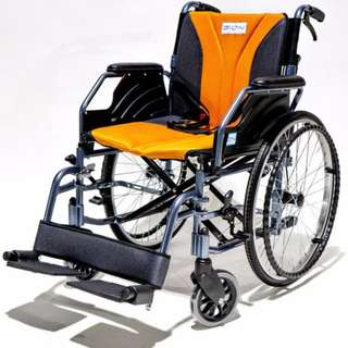 Brand New Bion iLight Wheelchair is a fully detachable model which is both lightweight and comfortable.(Selling becuz fracture healed and never used)