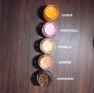 Flavored Lipscrub