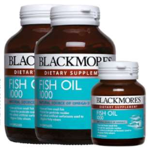 BLACKMORES Fish Oil 1000mg 2 x 120's + 30's