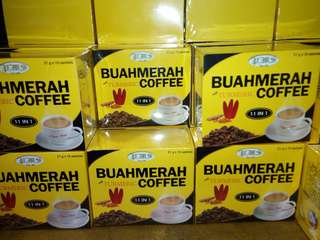 Buah Merah Coffee with Turmeric