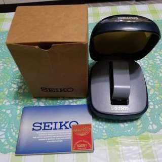 Seiko 錶盒及保用證和使用說明