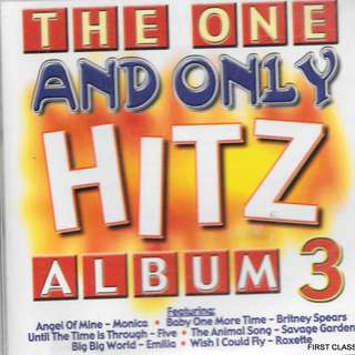 MY PRELOVED CD - THE ONE AND ONLY HITZ ALBUM NO.3  /FREE DELIVERY (F7N))